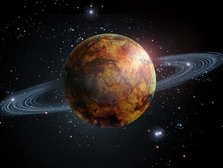 Разворот Сатурна и Плутона в апреле 2019