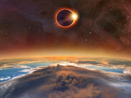 Просто о Солнечных Затмениях