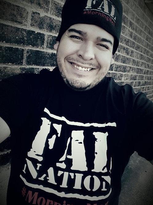 Black FALwear T-shirt