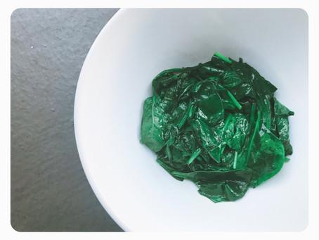 Simply Sautéed Spinach