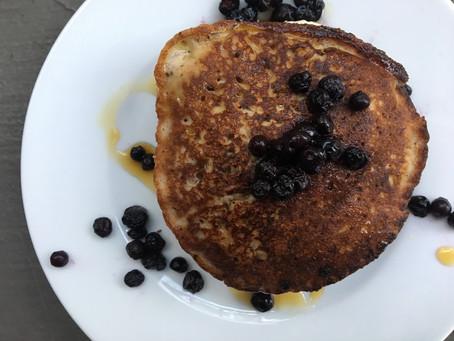Gluten-free coconut banana pancakes