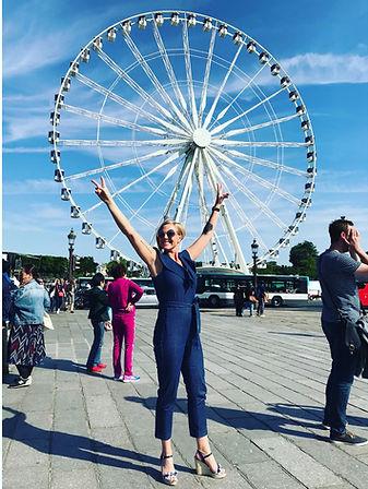 Katie in Paris