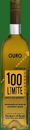 Cachaça 100 Limite -Ouro