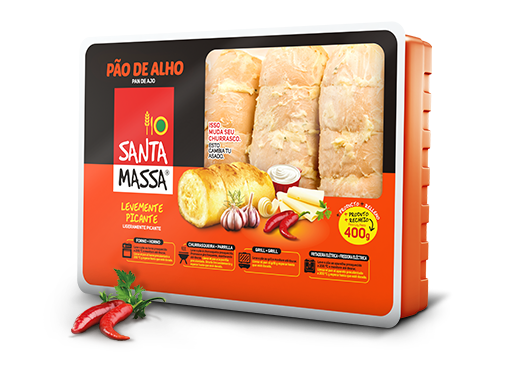 Pão de Alho Picante- Santa Massa