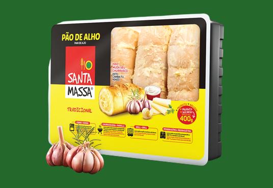 Pão de Alho Tradicional- Santa Massa