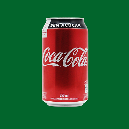 Coca Cola - sem açúcar 350ml