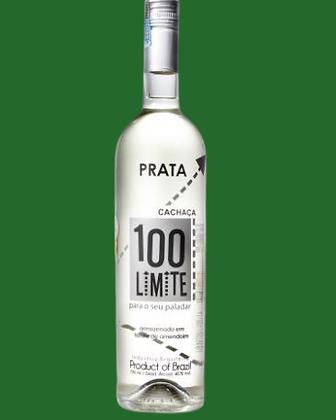 Cachaça 100 Limite - Prata