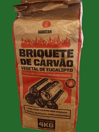 Carvão Briquete 4 kilos