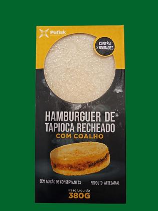 Hamburguer de Tapioca Recheado c/ Coalho
