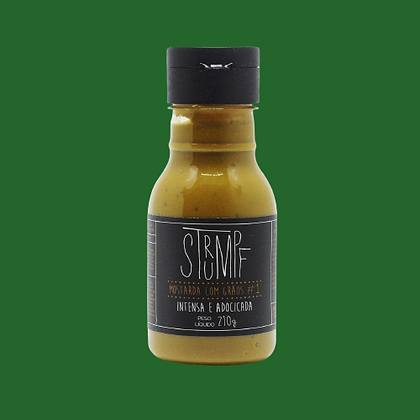 Strumpf  Mostarda com grãos  -210g