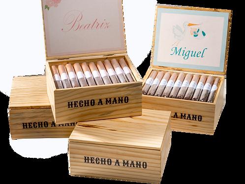 Canuditos para maternidade e aniversário - Caixa com 40 unidades