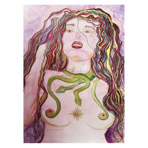 Mava: La déesse du soleil lorsque la nuit tombe.
