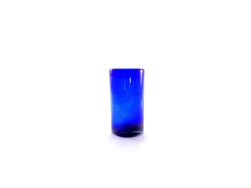 Vaso Agua Azul Solido 7 X 13