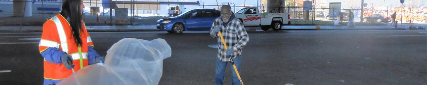 Ali sweeping 012119 MLK DOS.JPG