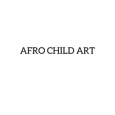 Afro Child Art