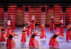 Red Dress Recital dance