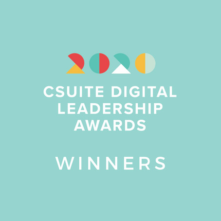 Winners Announced For The 2020 CSuite Digital Leadership Awards!