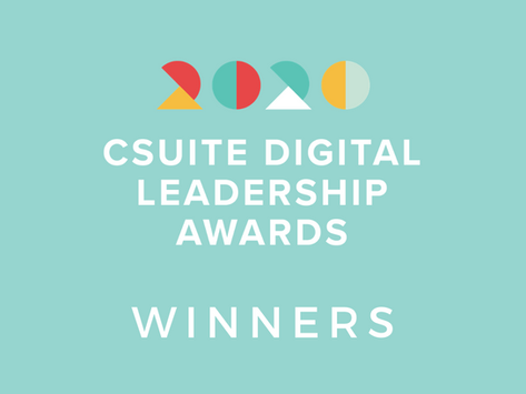 Winners Announced For The 2020 CSuite Digital Leadership Awards!