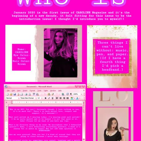 Who is CAROLINE?