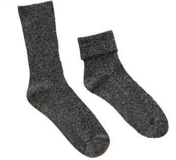 GLITTER Socks - Black
