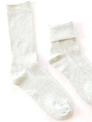 GLITTER Socks - White