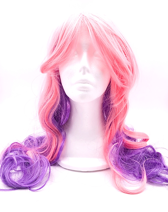 Wig - Pink/Purple Ombre