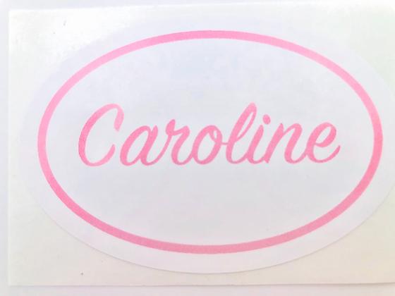 CAROLINE Stickers - Set of 6