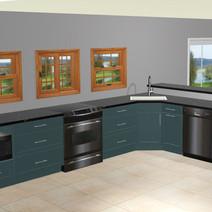 Mathais Cabin Kitchen