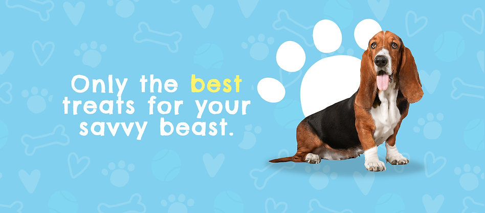 only the best treats for your SavvyBeast