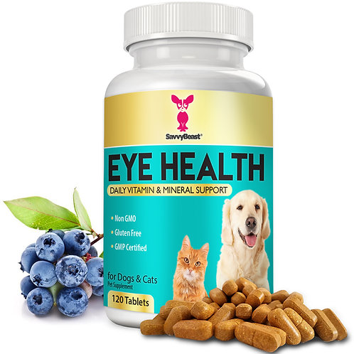 Eye Vitamins for Dogs and Cats
