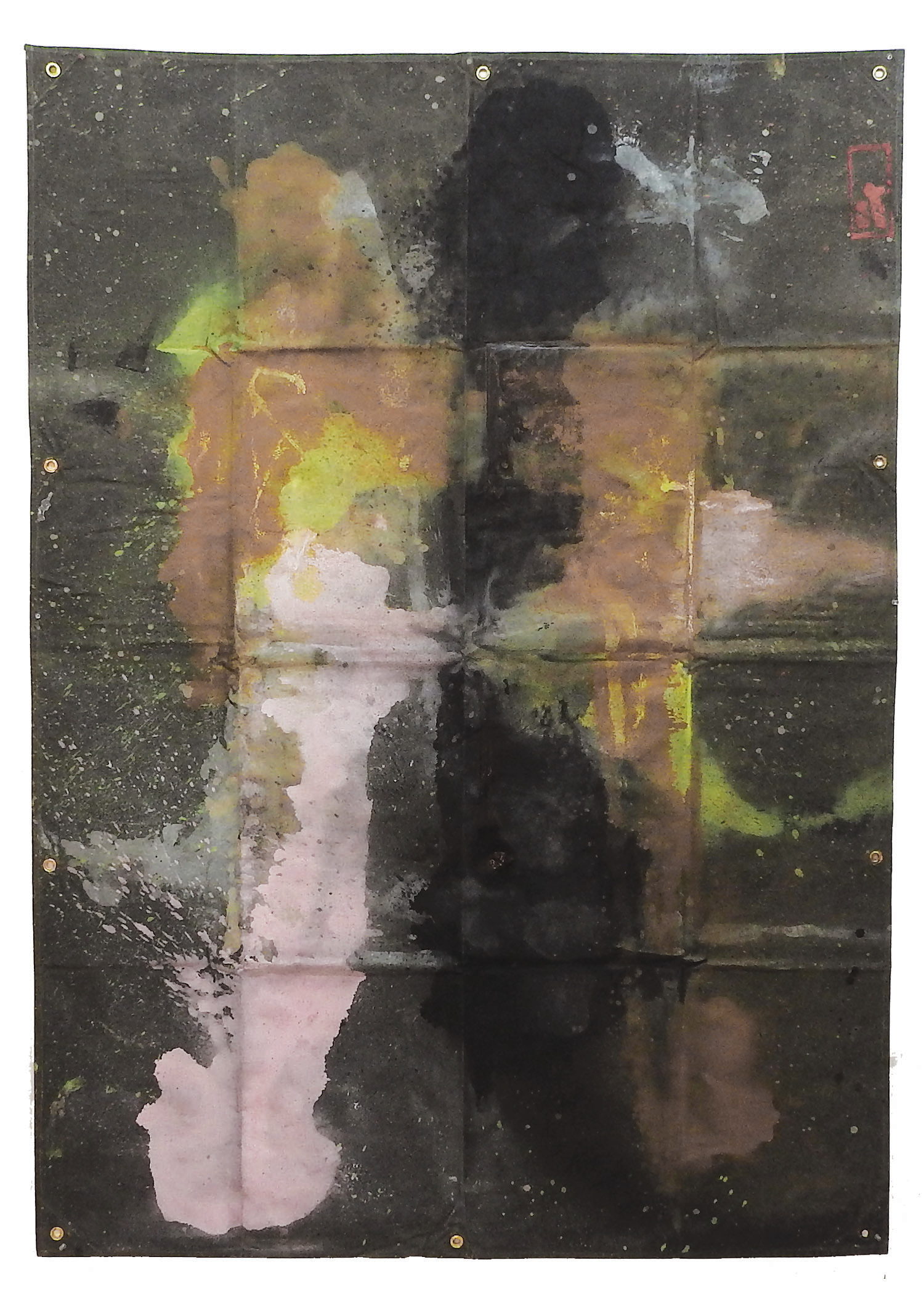 Tarp Painting 8