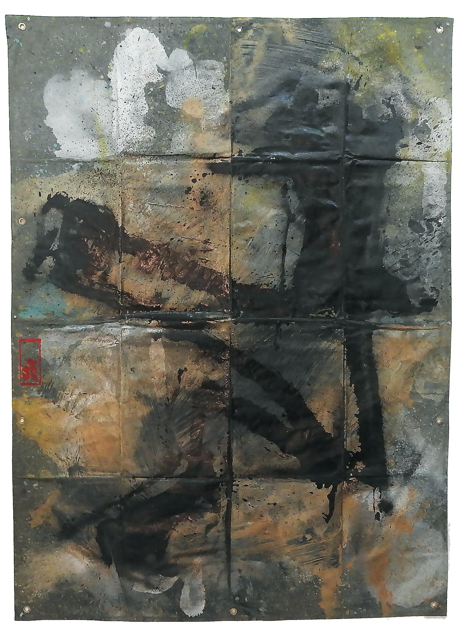 Tarp Painting 18