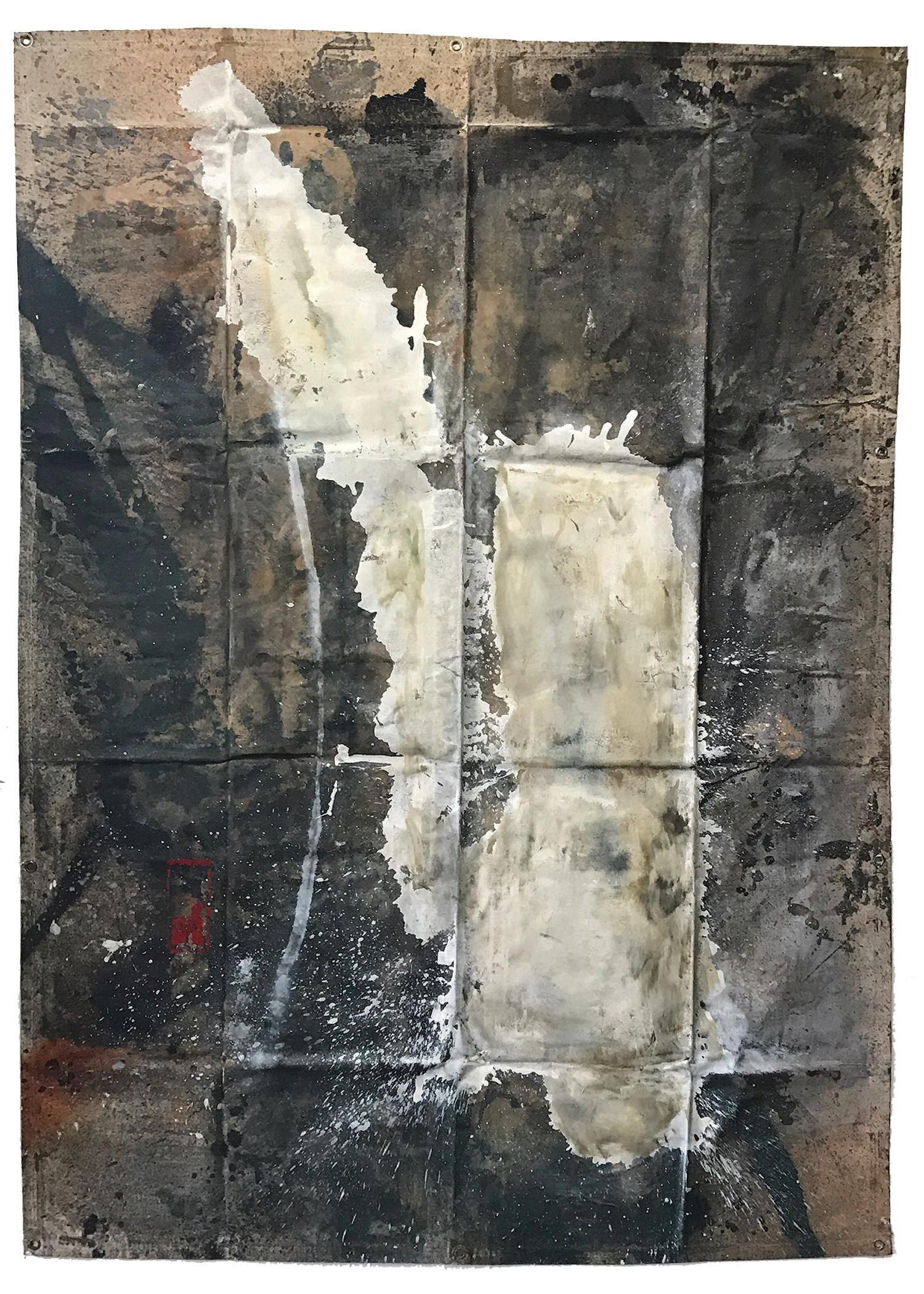 Tarp Painting 13