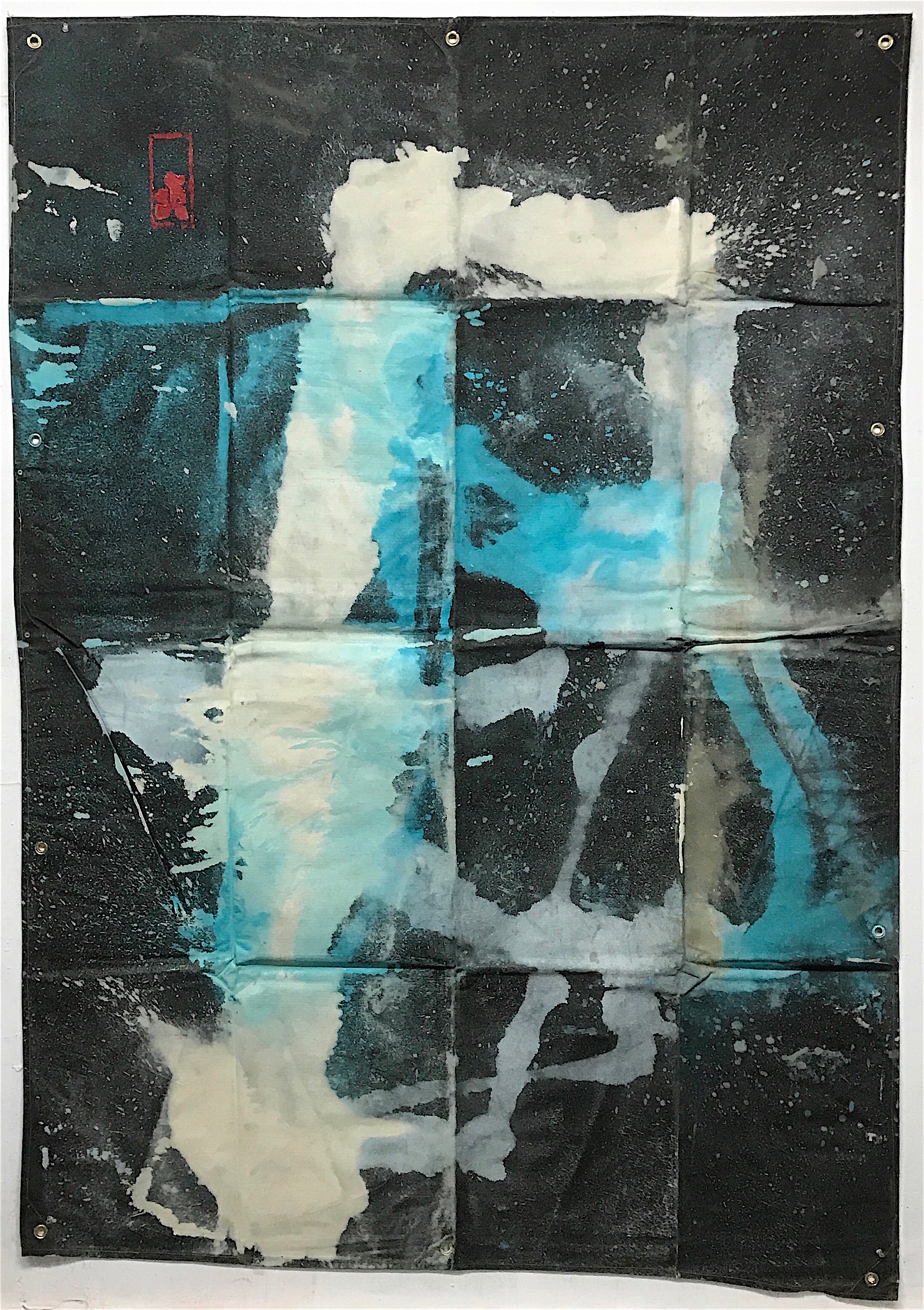 Tarp Painting 16