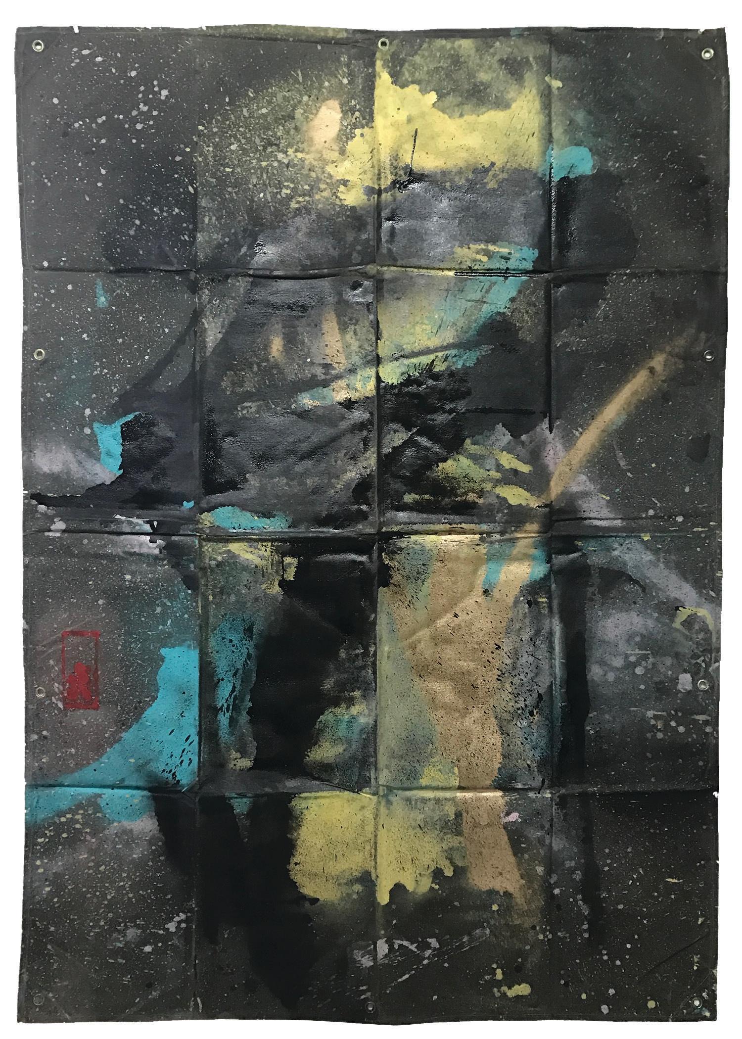 Tarp Painting 11