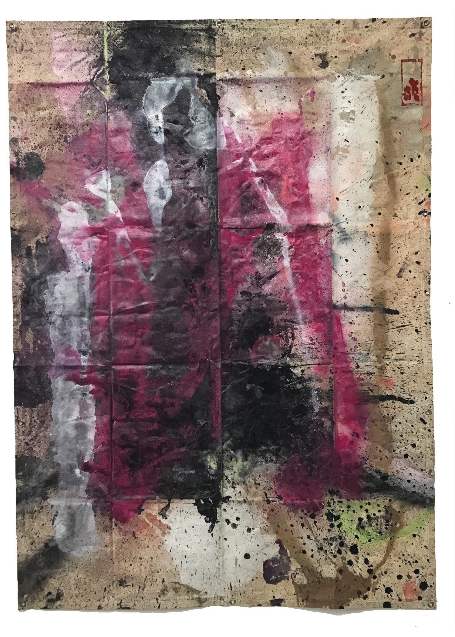 Tarp Painting 14