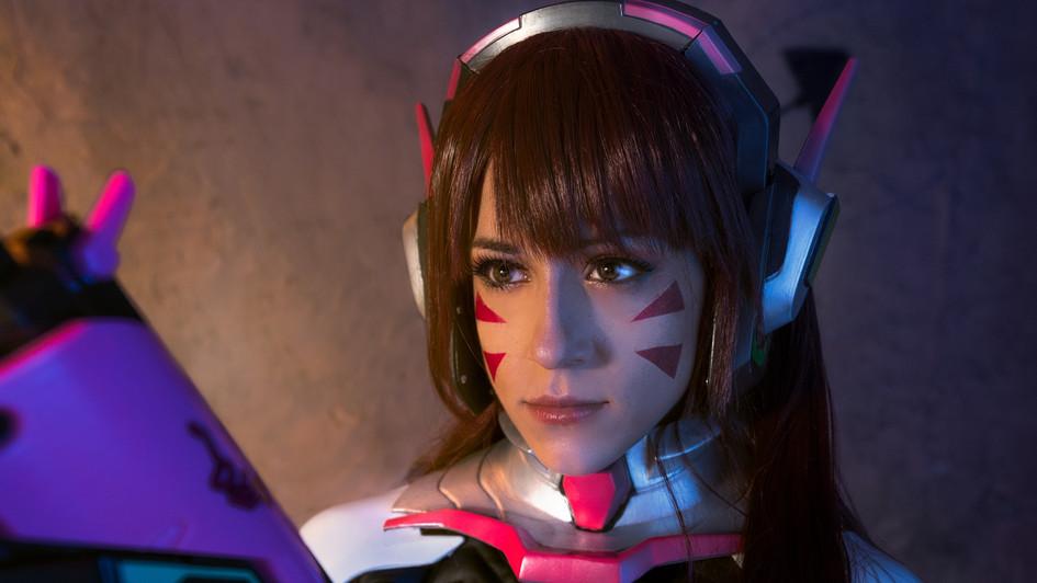 Chiara Matteucci playing Overwatch