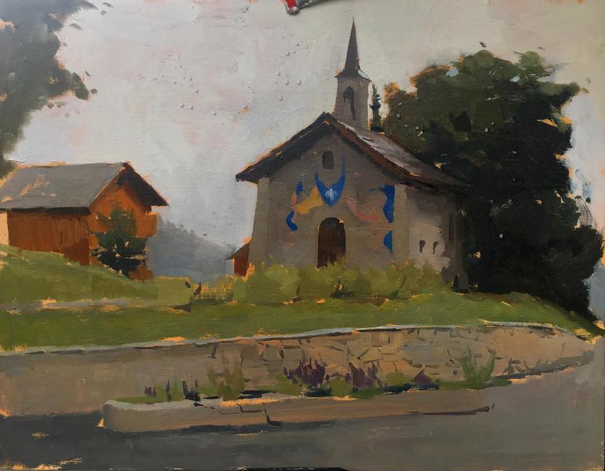 Chapel in Meribel