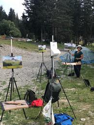 Painting with Tutor Tanvi
