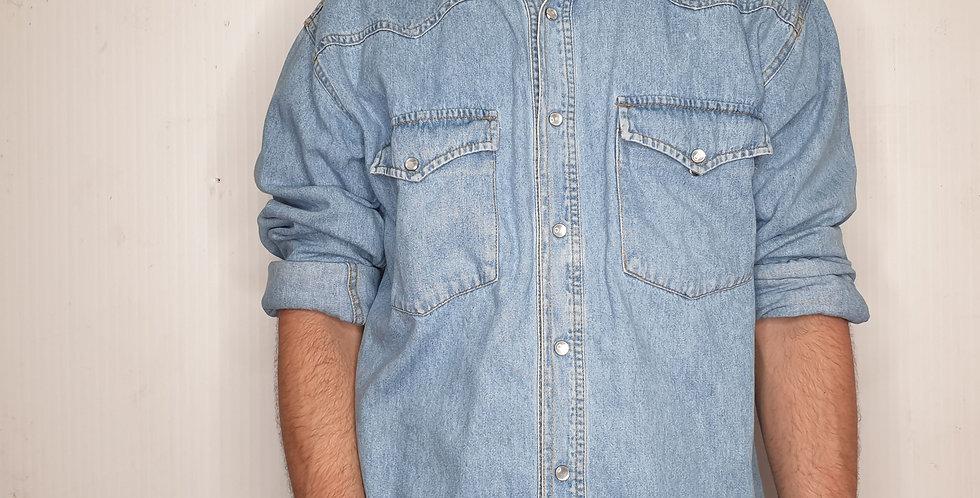 American Eagle Denim Shirt (Medium)