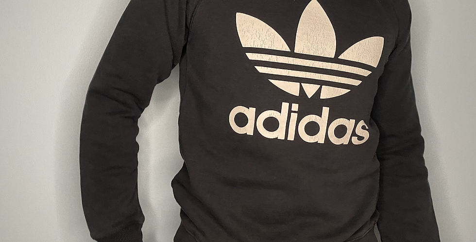 Adidas Spellout Sweatshirt (Small)