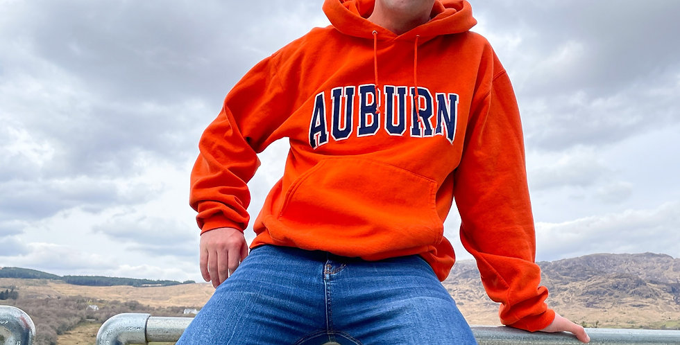 Auburn College Champion Hoodie (Large)