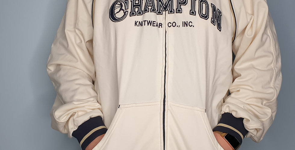 Champion Spellout Track Top (Large)