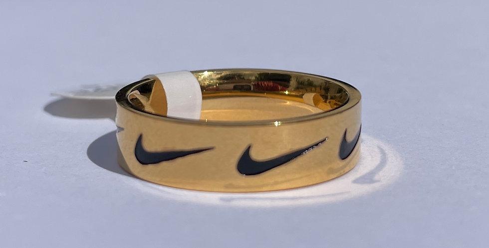 Swoosh Repeat Ring (Large)