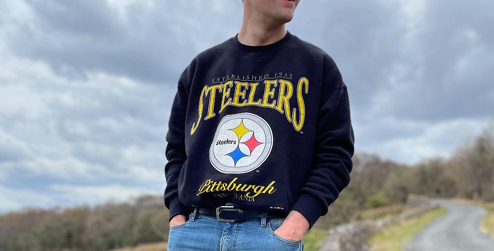 Vintage Pittsburgh Steelers Sweatshirt (XL)
