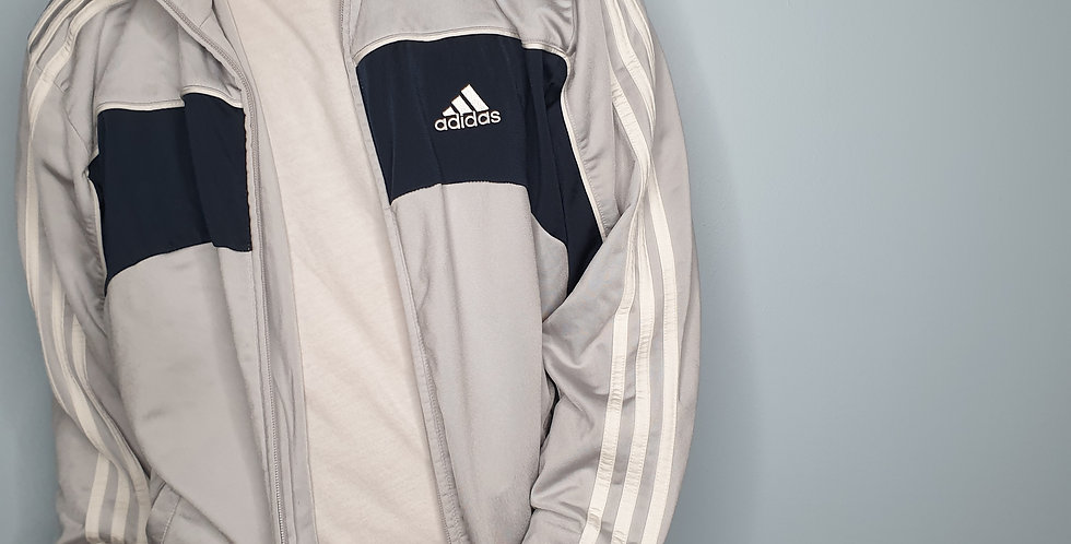 Adidas Track Top with Big Logo Back (Large)