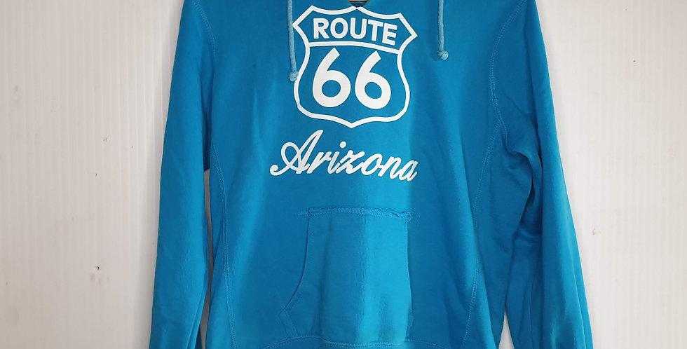 Woman's Route 66 Hoodie (Medium)