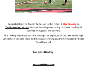 Top Drawer Soccer - Bentley Patterson