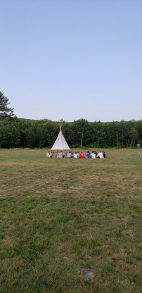 Lions Camp Pride Field and Teepee