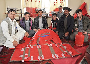 saddle making in afghanistan